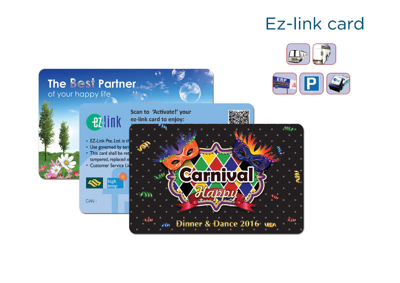 EZLink Card Customisation